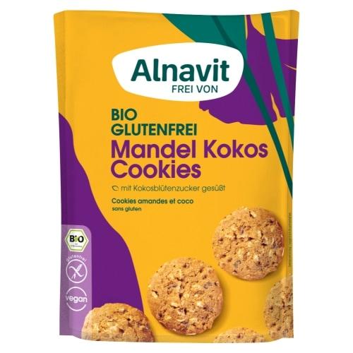 Alnavit Amandel-Kokos Koekjes Glutenvrij Bio 125 g
