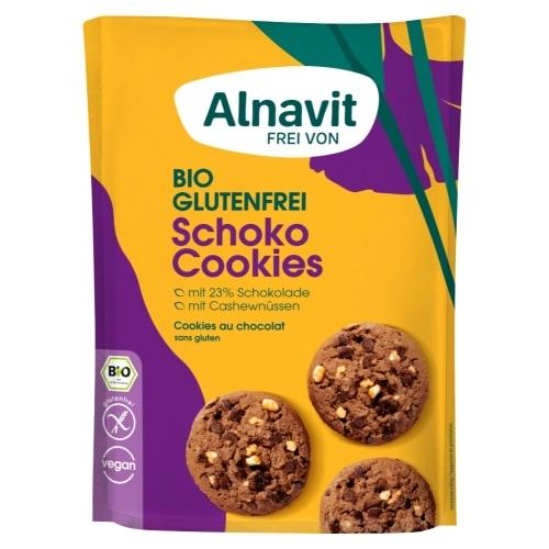 Alnavit Chocoladekoekjes Glutenvrij Bio 125 g