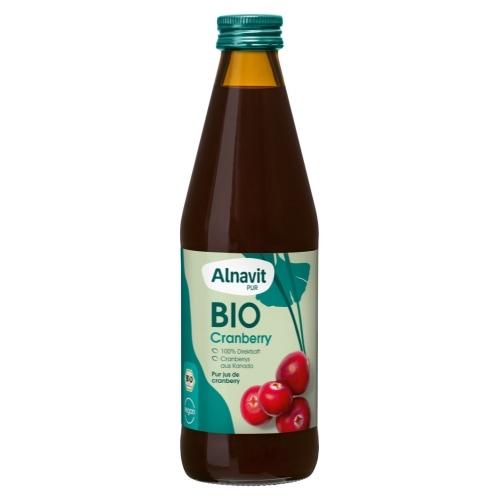Alnavit Cranberrysap Bio 330 ml