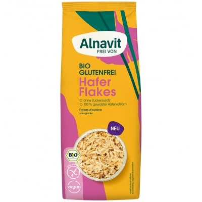 Alnavit Haverflakes Glutenvrij Bio 200 g