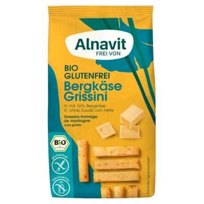 Alnavit Mini Bergkaas Grissini Glutenvrij Bio 100 g