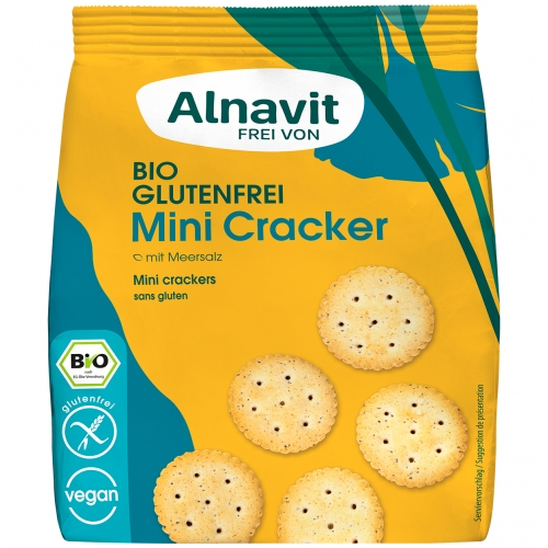 Alnavit Mini Crackers Glutenvrij Bio 100 g