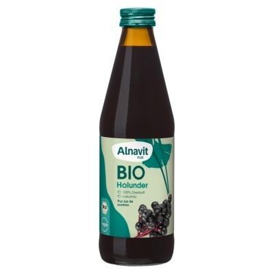 Alnavit Vlierbessensap Bio 330 ml