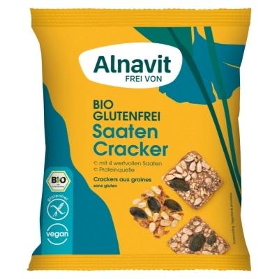 Alnavit Zaden Crackers Glutenvrij Bio 75 g