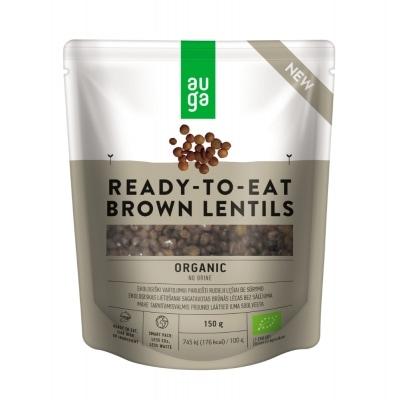 Auga Bruine Linzen Ready To Eat Bio 150 g