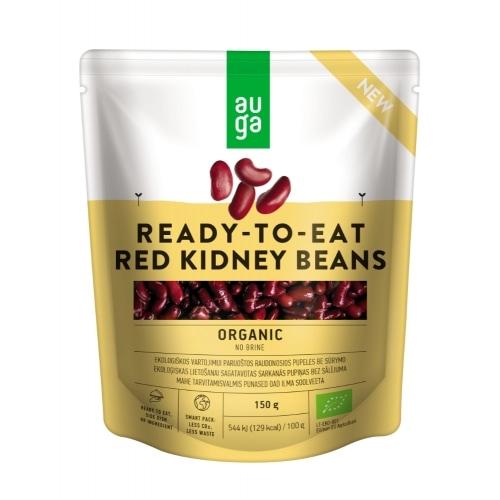 Auga Rode Kidneybonen Ready To Eat Bio 150 g
