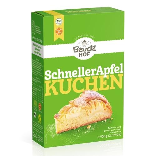 Bauckhof Appeltaart Bakmix Glutenvrij Bio 2 x 250 g