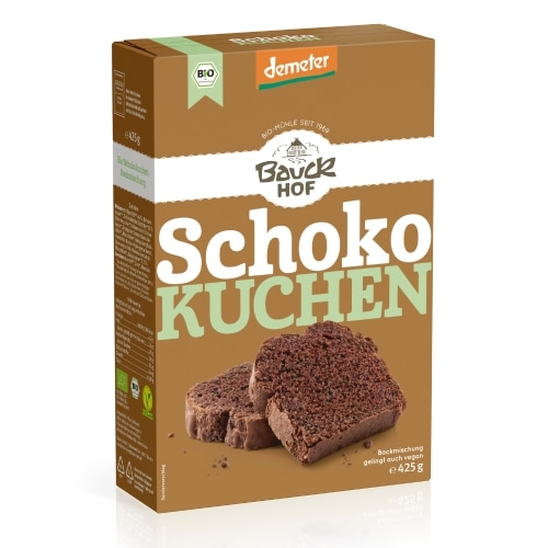 Bauckhof Chocoladecake Bakmix Demeter / Bio 425 g