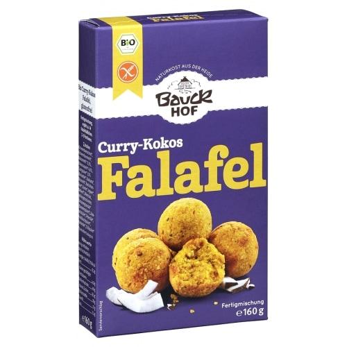 Bauckhof Falafel Mix Curry-Kokos Glutenvrij Bio 160 g