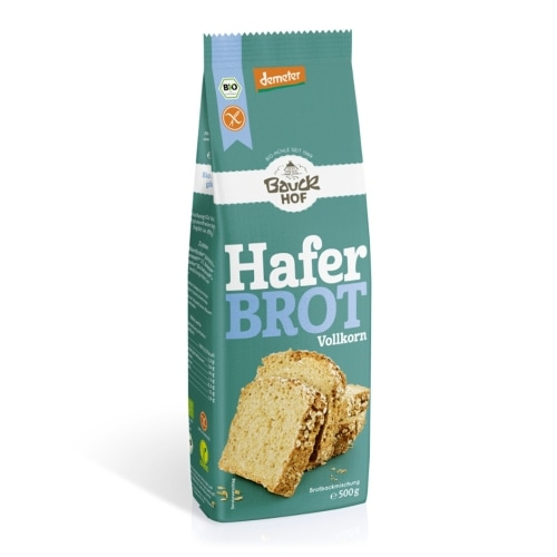 Bauckhof Haver Broodmix Volkoren Glutenvrij Demeter / Bio 500 g