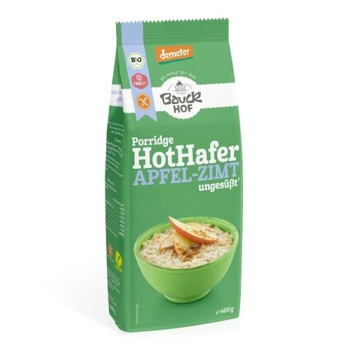 Bauckhof Havermout Appel-Kaneel Glutenvrij Demeter / Bio / Fair 400 g