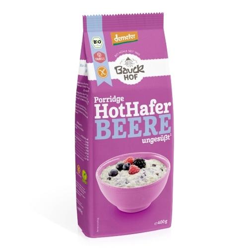 Bauckhof Havermout Bessen Glutenvrij Demeter / Bio / Fair 400 g