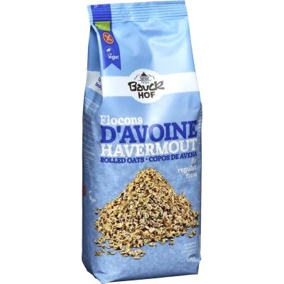 Bauckhof Havervlokken Fijn Glutenvrij Bio 475 g