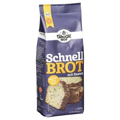Bauckhof Rijst Broodmix Zaden Volkoren Glutenvrij Bio 500 g