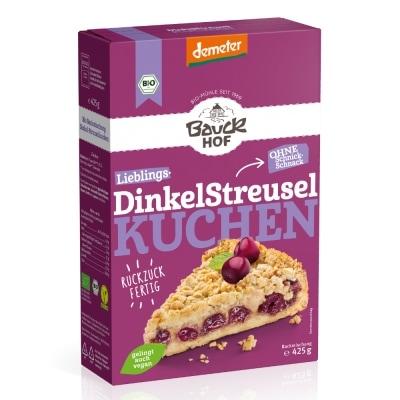 Bauckhof Spelt Kruimeltaart Bakmix Demeter / Bio 425 g