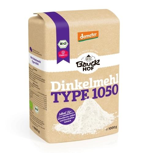 Bauckhof Speltmeel Type 1050 Demeter / Bio / Fair 1 kg