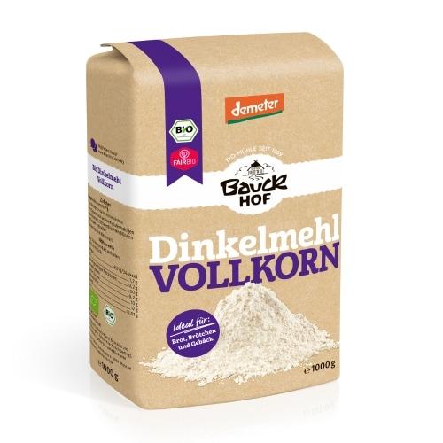 Bauckhof Speltmeel Volkoren Bio 1 kg