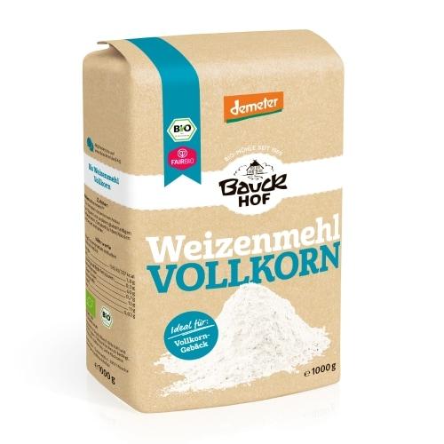 Bauckhof Tarwemeel Volkoren Demeter / Bio / Fair 1 kg