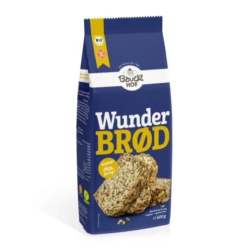 Bauckhof Wonder Broodmix Glutenvrij Bio 600 g