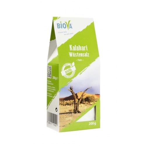 Biova Kalahari Woestijnzout Fijn 200 g