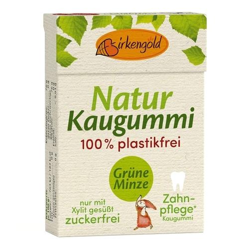 Birkengold Spearmint Kauwgom 28 g