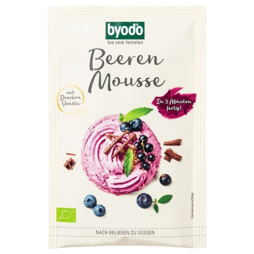 Byodo Bessenmousse Poeder Bio 30 g