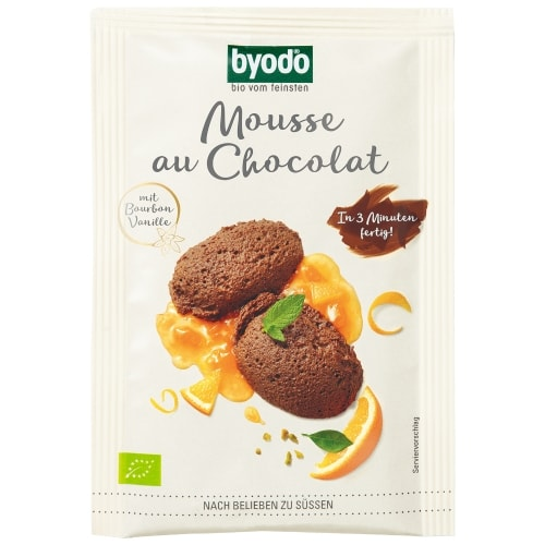 Byodo Chocolademousse Poeder Bio 36 g