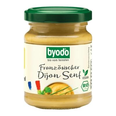 Byodo Dijon Mosterd Bio 125 ml