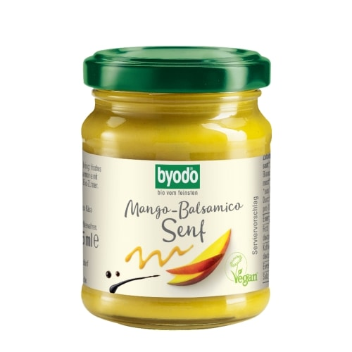 Byodo Mango-Balsamico Mosterd Bio 125 ml