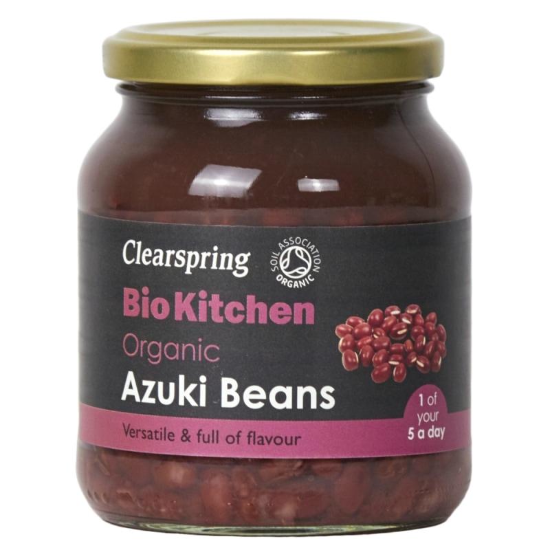 Clearspring Adukibonen Gekookt Bio 350 g