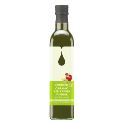 Clearspring Appelazijn Matcha-Citroen Bio 500 ml