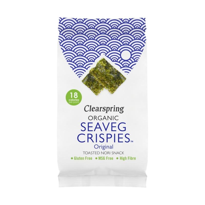 Clearspring Crispy Zeewier Bio 4 g