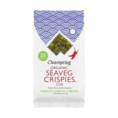 Clearspring Crispy Zeewier Chili Bio 4 g