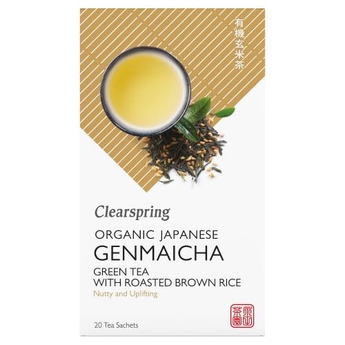 Clearspring Groene Genmaicha Thee Bio 20 x 1,8 g