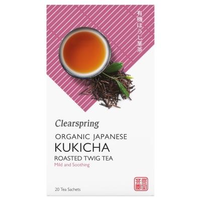 Clearspring Groene Kukicha Thee Bio 20 x 1,8 g