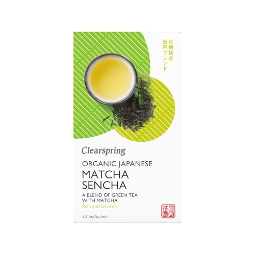 Clearspring Groene Matcha-Sencha Thee Bio 20 x 1,8 g