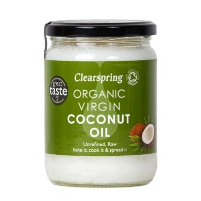 Clearspring Kokosolie Bio 400 g