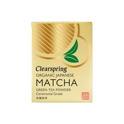 Clearspring Matchapoeder Ceremonieel Bio 30 g