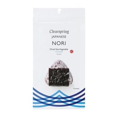 Clearspring Nori Zeewiervellen Niet Geroosterd 25 g
