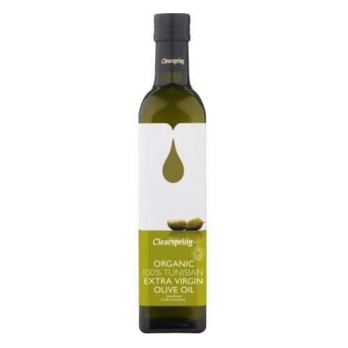 Clearspring Olijfolie Extra Vierge Tunesie Bio 500 ml