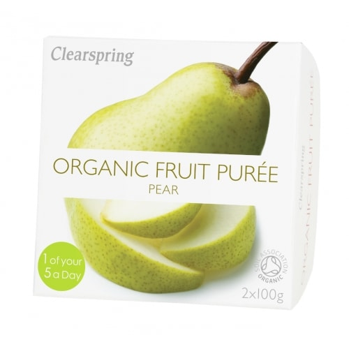 Clearspring Perenpuree Bio 2 x 100 g