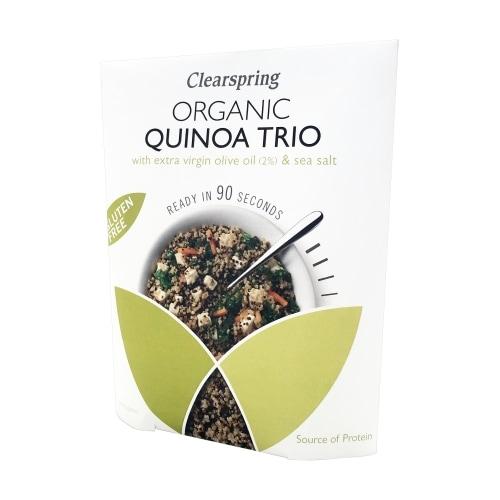 Clearspring Quinoa Trio Snel Bio 250 g