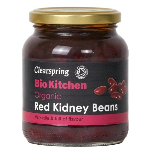 Clearspring Rode Kidneybonen Gekookt Bio 350 g