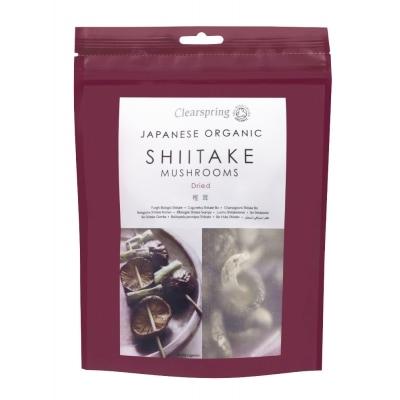 Clearspring Shiitake Paddestoelen Gedroogd Bio 40 g
