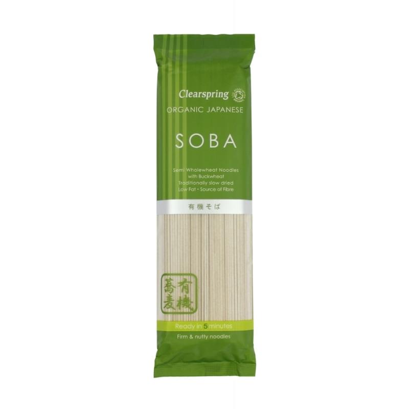 Clearspring Soba Noedels Bio 200 g