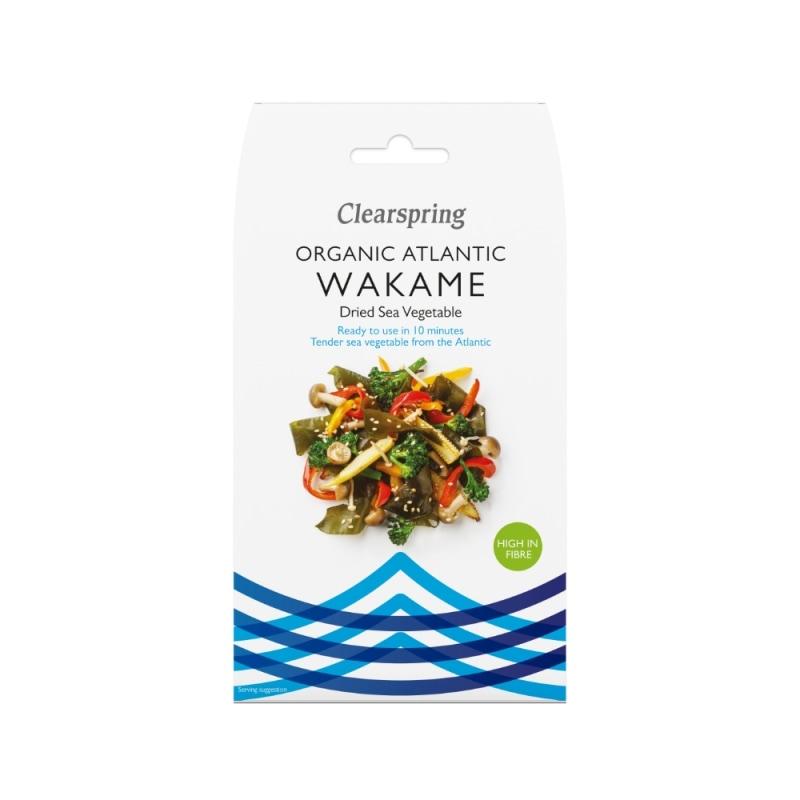 Clearspring Wakame Zeewier Bio 25 g