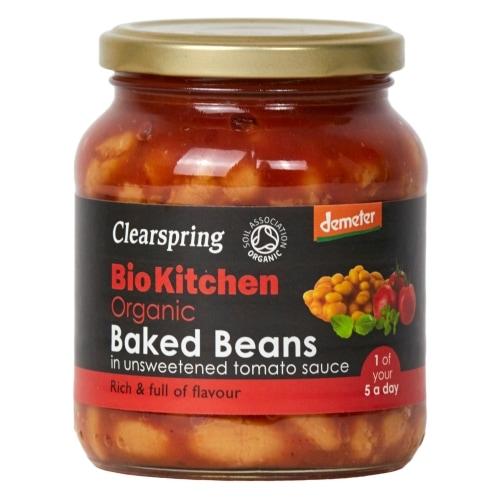Clearspring Witte Bonen Tomatensaus Bio 350 g