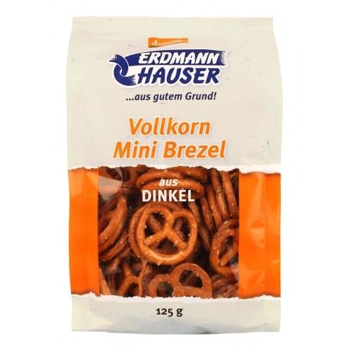 ErdmannHauser Spelt Minipretzels Volkoren Demeter / Bio 125 g