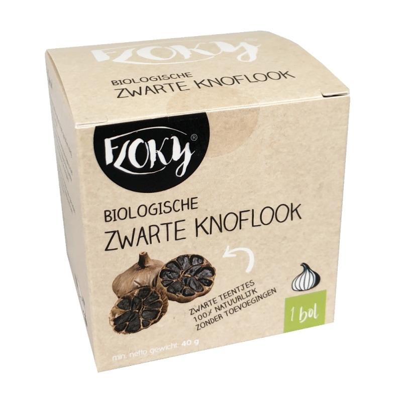 Floky Zwarte Knoflook Bio 1 bol