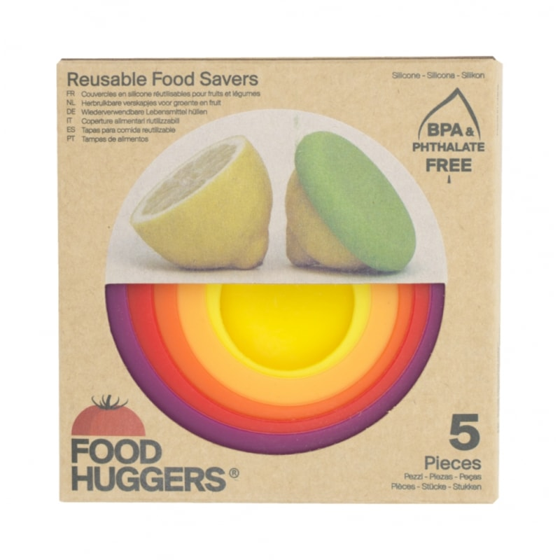 Food Huggers Siliconen Food Savers Basis Autumn Harvest 5 stuks